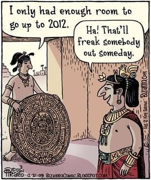 21-12-2012, la fin du Monde ?